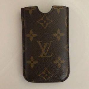 Louis Vuitton AUTHENTIC iPhone case